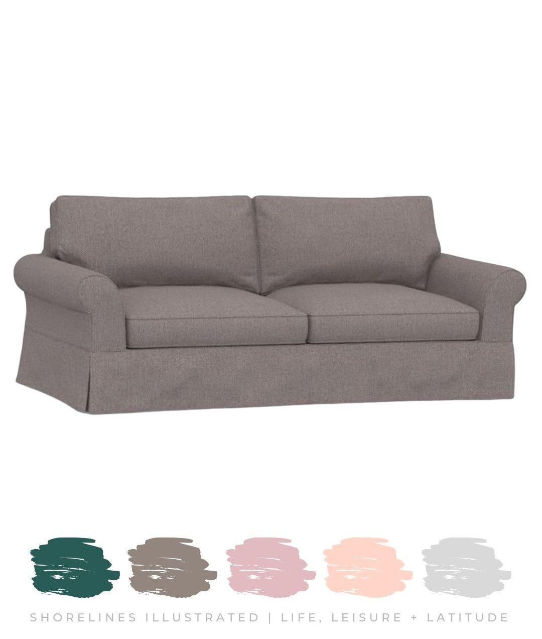 Slipcover Sofa starting at $1200 | Pottery Barn