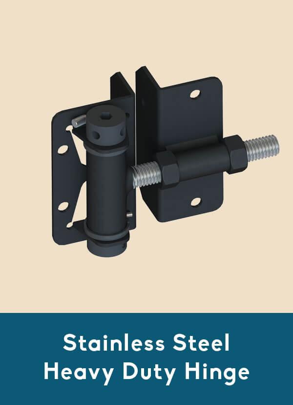 Stainless steel heavy-duty hinge for Coastal Aluminum fence gates