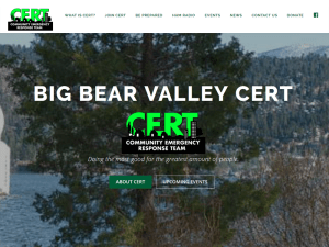 Big Bear Valley CERT
