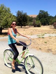 Danielle Hannan Biking