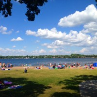 A Big Beach in Big Lake