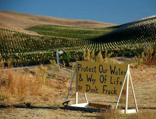 fracking california