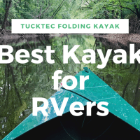 The Best Kayak for an RV - Tucktec Folding Kayak Review