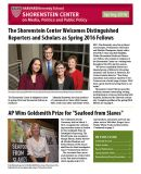 Spring 2016 newsletter cover