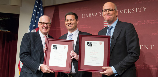 Theodore H. White Lecture with Mark Halperin and John Heilemann
