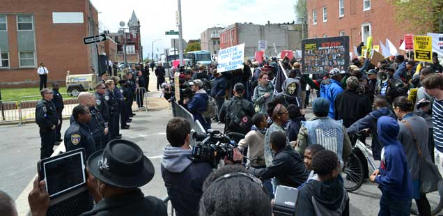 Baltimore Protest