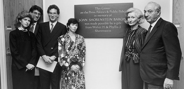 Celebrating the Shorenstein Center's 30th Anniversary