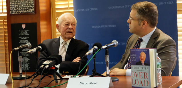 Bob Schieffer and Nicco Mele