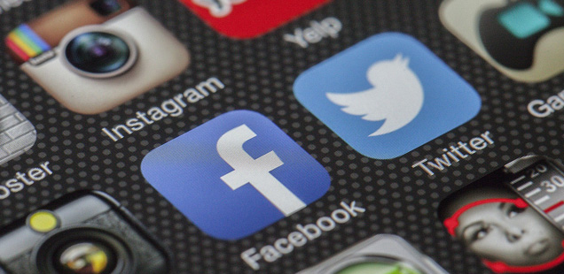 Social Platforms on phone