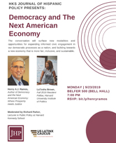 Democracy and the New American Economy