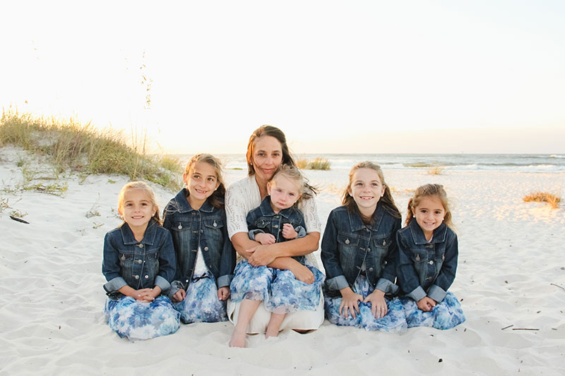 Fort Morgan Sunrise Beach Portraits Gulf Shores Family Photography Orange Beach Photographers