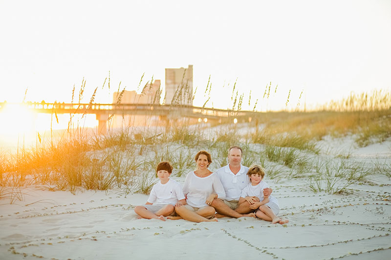gulf shores photographer fall sunset photography beach portraits destin panama city beach pictures