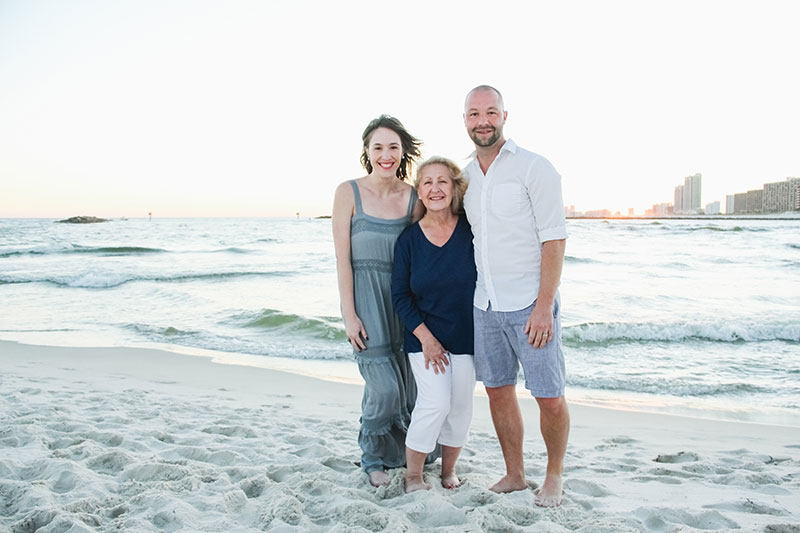 Family Photography Alabama Point East Orange Beach Photographer