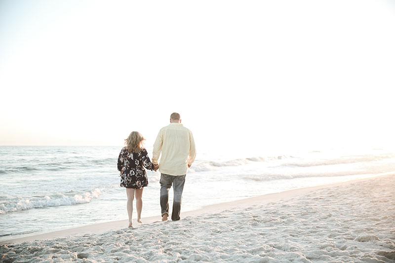 Surprise proposal Gulf Shores Photographers Orange Beach Photography
