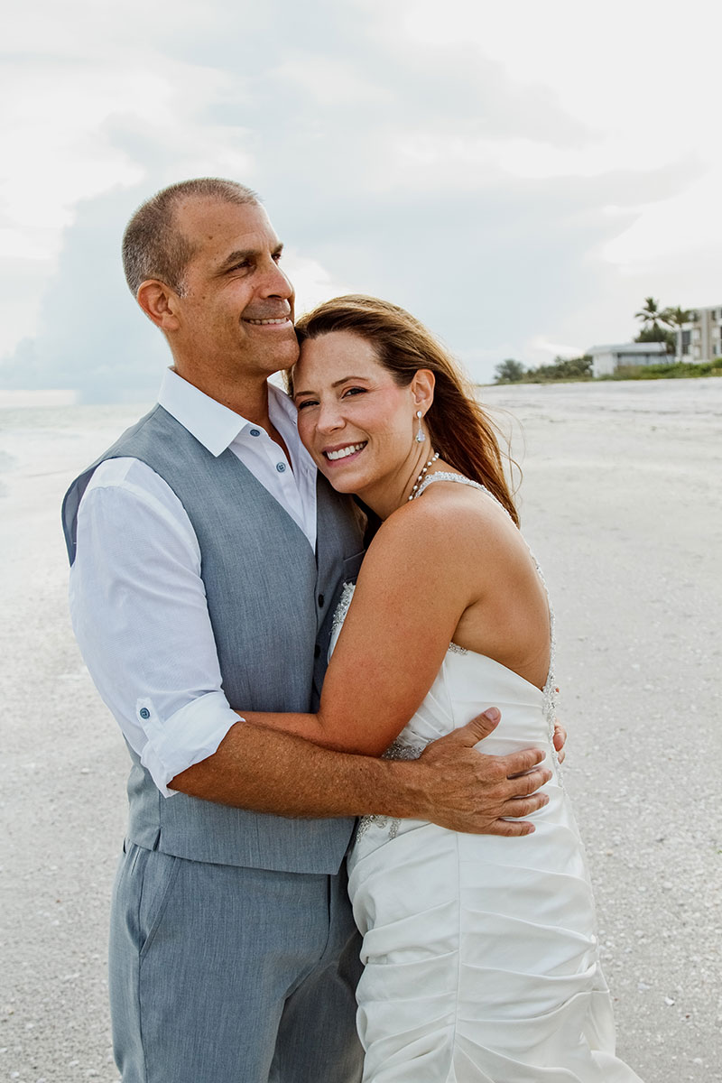 Fort Myers Beach Photographer Sanibel Photography Trash the Dress Pictures Newlywed Beach Portraits Fort Myers Florida