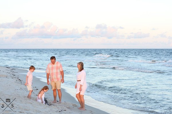 Cute Kids Gulf Shores Family Beach Portraits