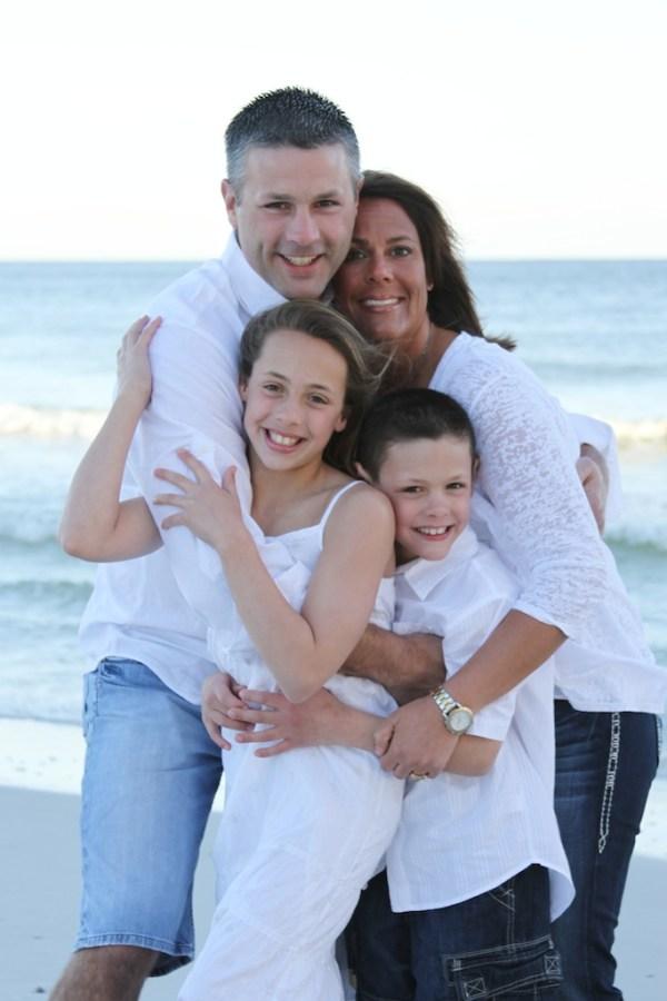 Gulf Shores Family Beach Portrait Photography