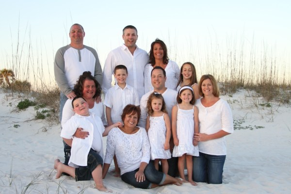 Gulf Shores Family Beach Portrait Photography