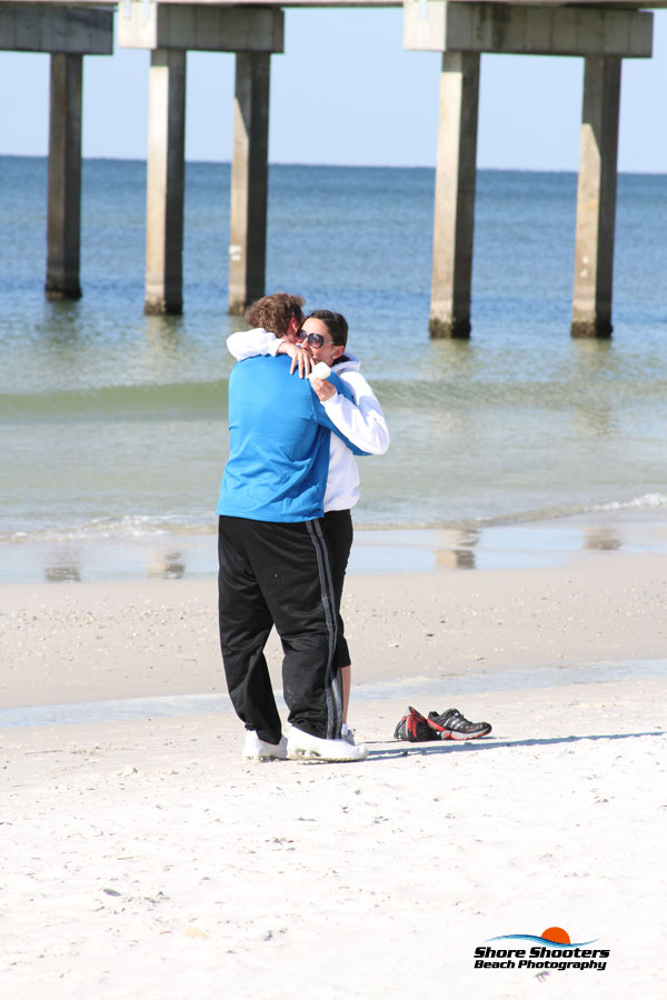 Beach Engagement - Gulf Shores Photography