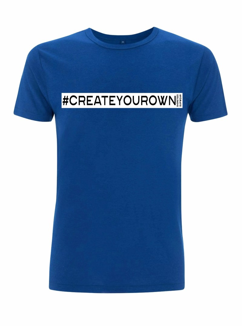 Mens Midnight Blue Create your own hashtag T-shirt