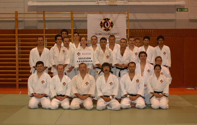 Sección Axarquia con el Maestro Aosaka
