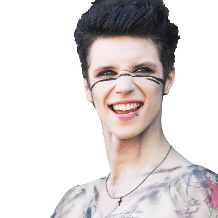 Andy Biersack Biography Singer Profile