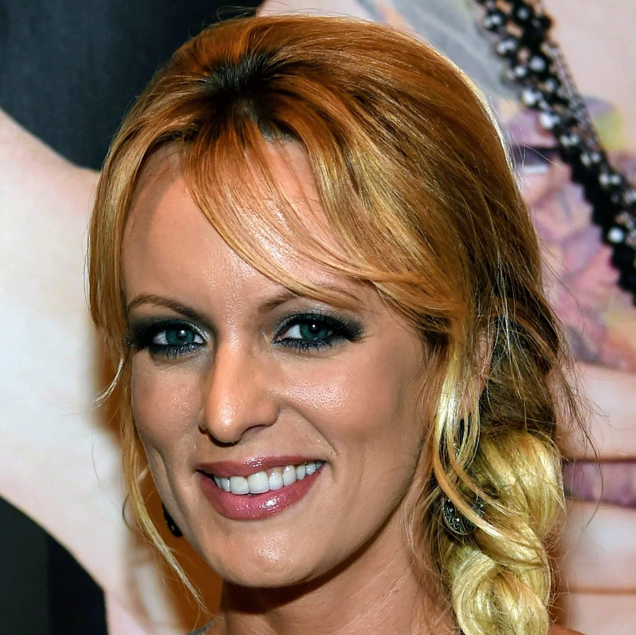 Adult film actress Stormy Daniels