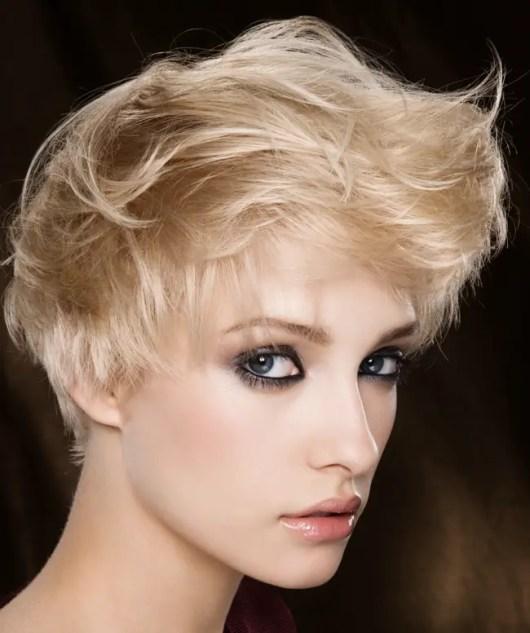short messy hairstyles women