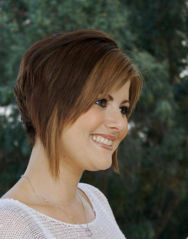 2014 Short Stacked Bob Hairstyles For Women Short