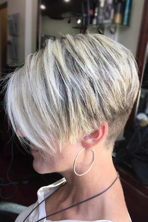 Classic Short Wedge Cut For Women 3 Short Hairstyles 2019