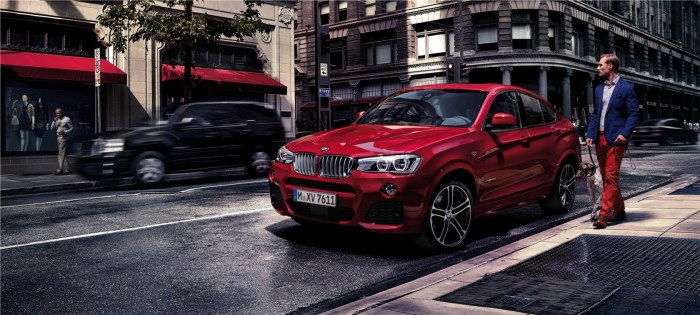 BMW X4 available on Short Term Lease