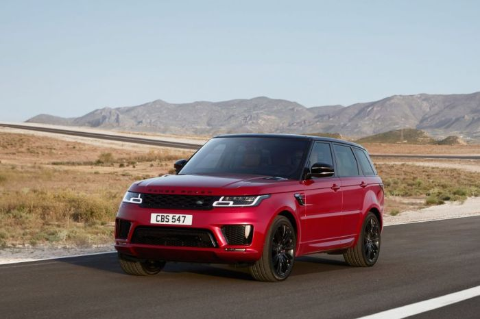 Range Rover Sports 2018 MY18 - Short Term Lease