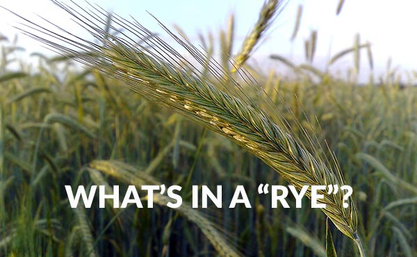 What's In A Rye Beer?