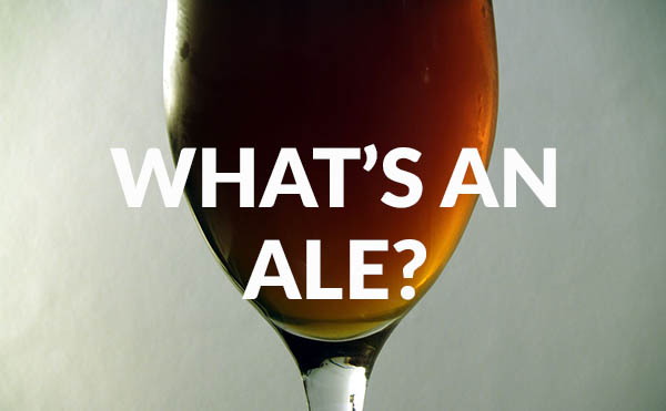 What's an Ale? How are ales made