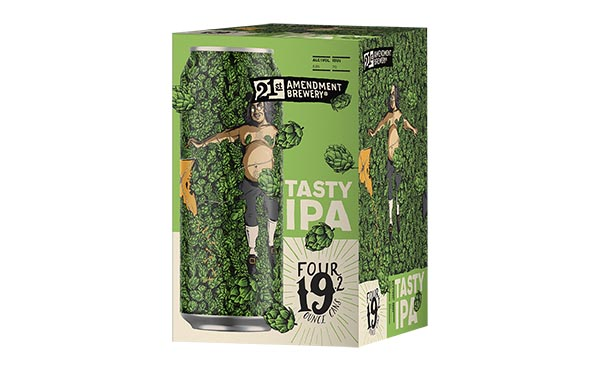 Tasty IPA promo materials from 21st Amendment Brewing