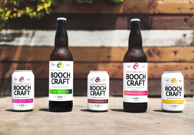 New boochcraft flavors to hit pnw