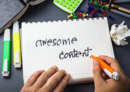 get staff to create content