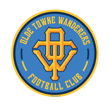 Create-A-Club Contest winner Olde Towne Wanderers FC decal.
