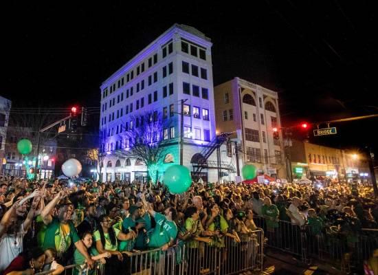 The Shortest St. Pats Parade