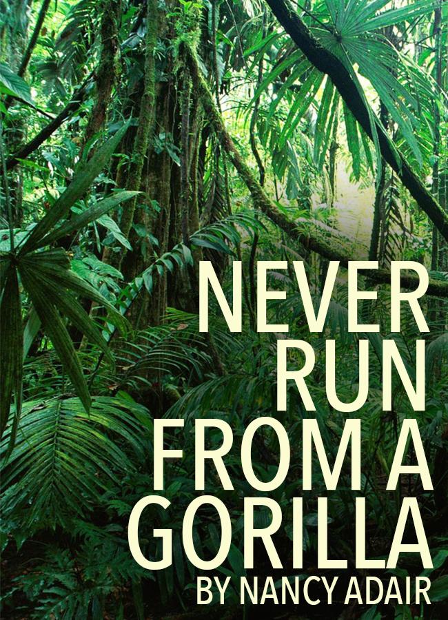 Never Run From a Gorilla