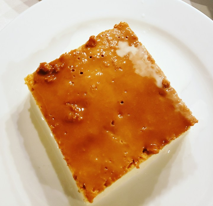 Crème Caramel - Another  desert with roots from Mexico