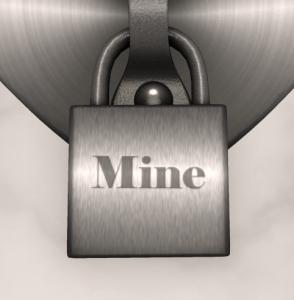 lock mine