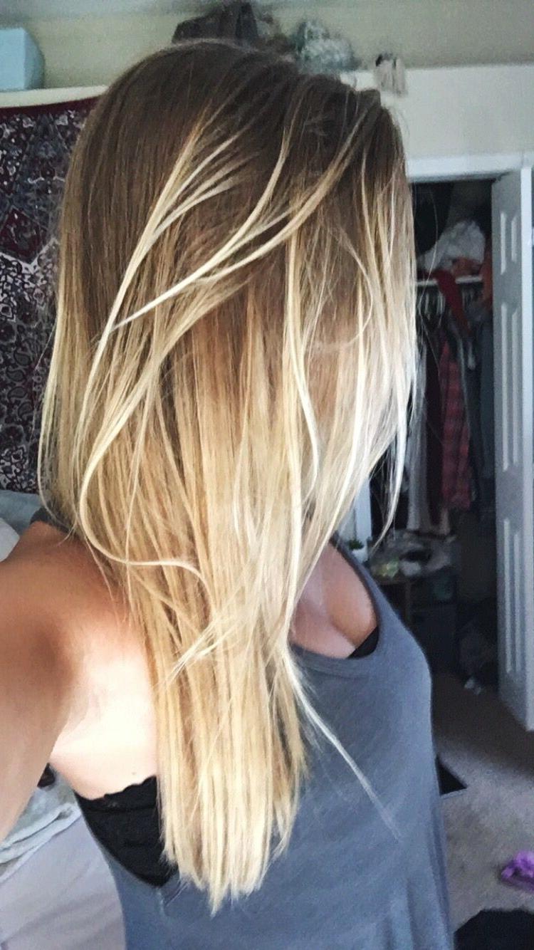 Dark Brown Light Brown Hair Ombre