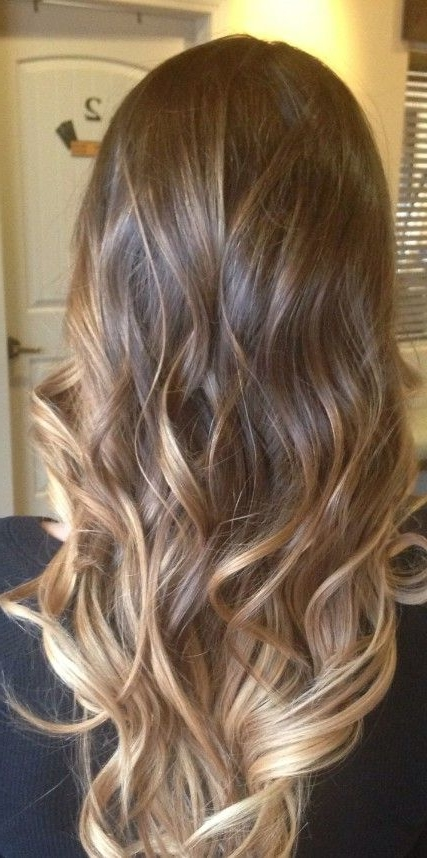 Dark Brown Light Brown Ombre Short Hair