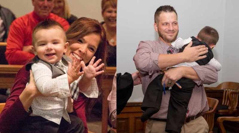 Excited Toddler Yells 'Dad!' After Judge Reads Adoption Decree