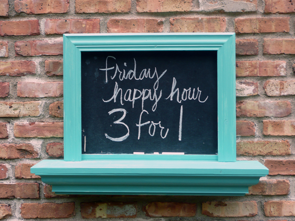 happy hour | the both and