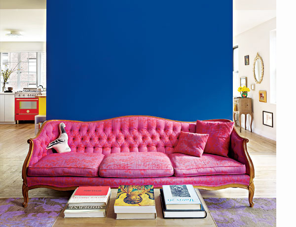 To die for pink couch