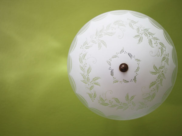 ceiling light | shorts and longs | julie rybarczyk