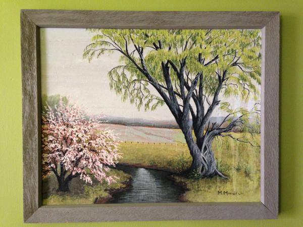 margit mindrum painting - shorts and longs - julie rybarczyk