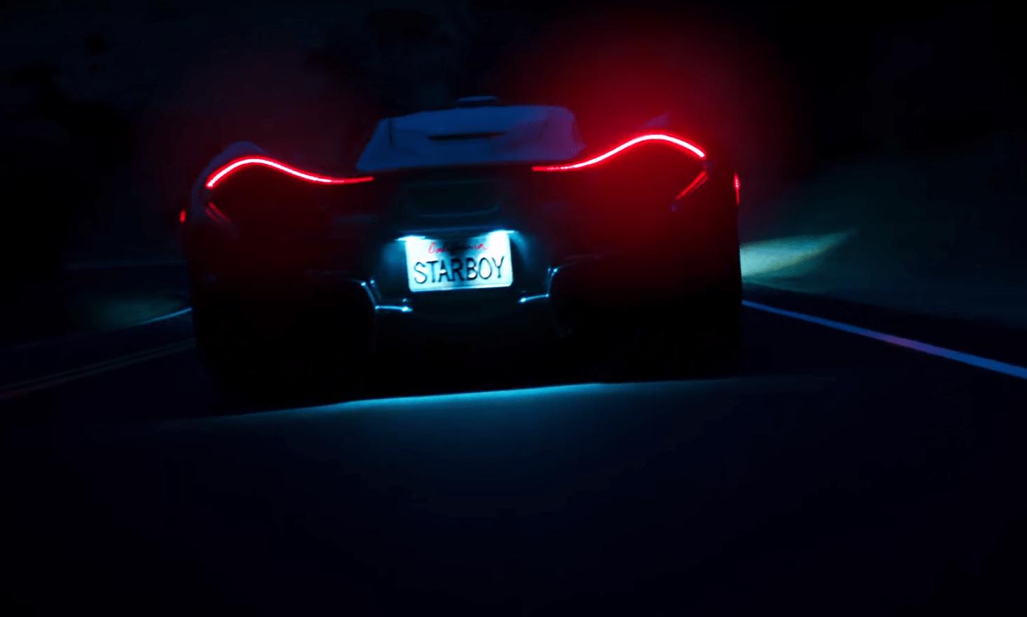 Starboy Drives A McLaren P1